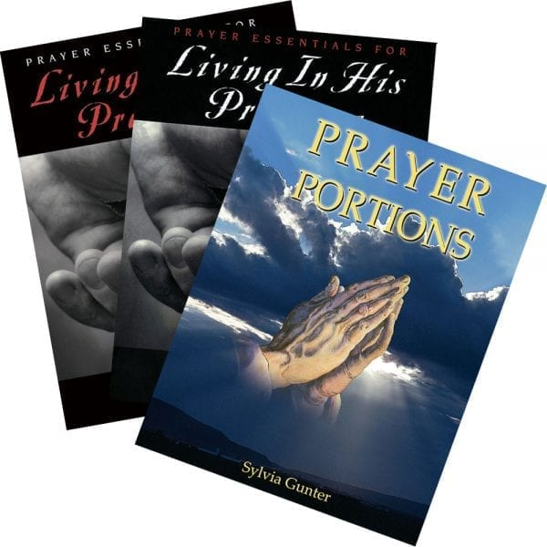 Prayer Portions 3 Book Set